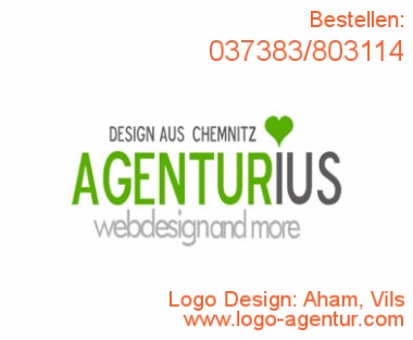 Logo Design Aham, Vils - Kreatives Logo Design