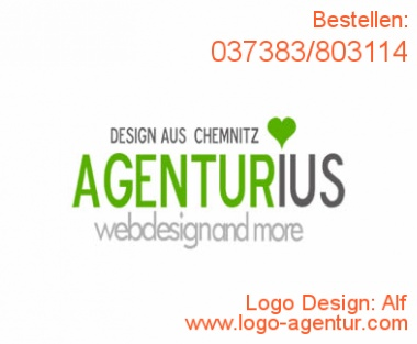 Logo Design Alf - Kreatives Logo Design