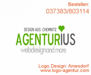 Logo Design Amesdorf - Kreatives Logo Design