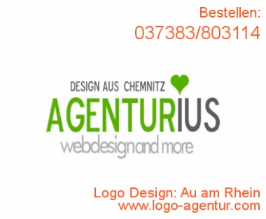 Logo Design Au am Rhein - Kreatives Logo Design