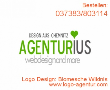 Logo Design Blomesche Wildnis - Kreatives Logo Design