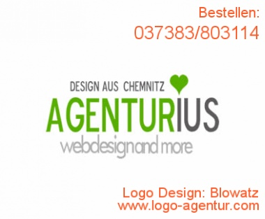 Logo Design Blowatz - Kreatives Logo Design
