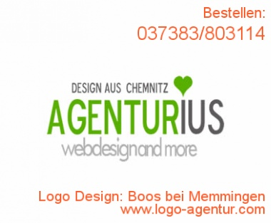 Logo Design Boos bei Memmingen - Kreatives Logo Design
