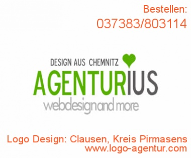 Logo Design Clausen, Kreis Pirmasens - Kreatives Logo Design