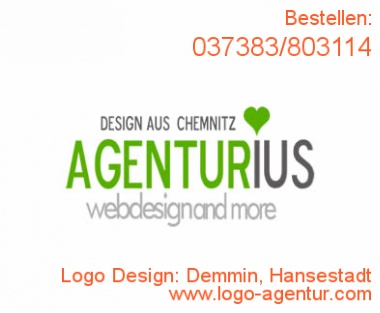 Logo Design Demmin, Hansestadt - Kreatives Logo Design
