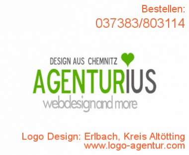 Logo Design Erlbach, Kreis Altötting - Kreatives Logo Design