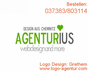 Logo Design Grethem - Kreatives Logo Design