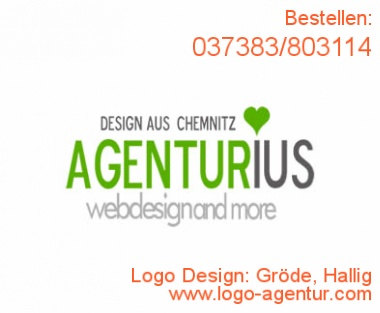 Logo Design Gröde, Hallig - Kreatives Logo Design