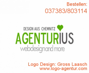 Logo Design Gross Laasch - Kreatives Logo Design