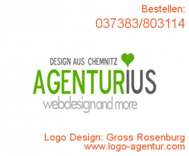 Logo Design Gross Rosenburg - Kreatives Logo Design