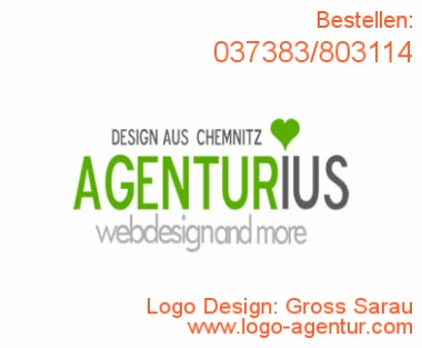 Logo Design Gross Sarau - Kreatives Logo Design