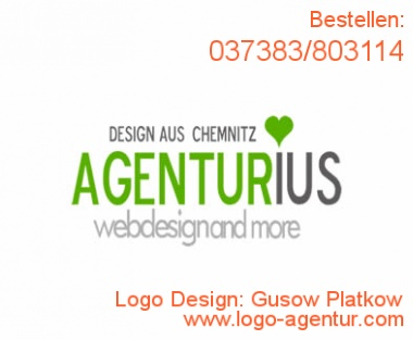 Logo Design Gusow Platkow - Kreatives Logo Design