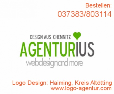 Logo Design Haiming, Kreis Altötting - Kreatives Logo Design