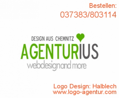Logo Design Halblech - Kreatives Logo Design