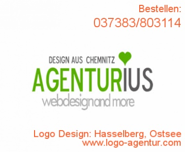 Logo Design Hasselberg, Ostsee - Kreatives Logo Design