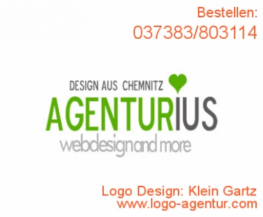 Logo Design Klein Gartz - Kreatives Logo Design