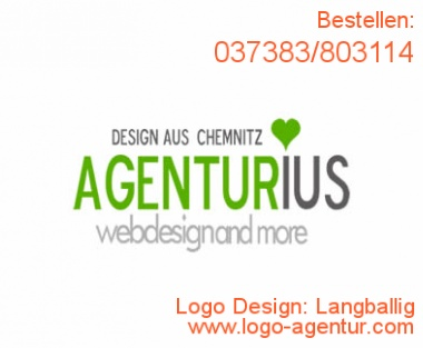 Logo Design Langballig - Kreatives Logo Design