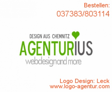 Logo Design Leck - Kreatives Logo Design