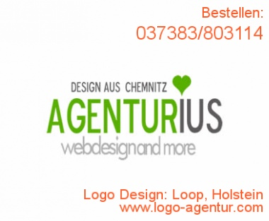 Logo Design Loop, Holstein - Kreatives Logo Design