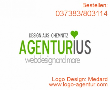 Logo Design Medard - Kreatives Logo Design