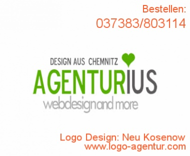 Logo Design Neu Kosenow - Kreatives Logo Design