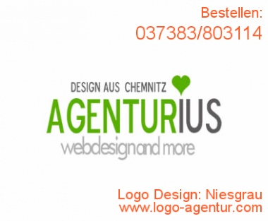 Logo Design Niesgrau - Kreatives Logo Design