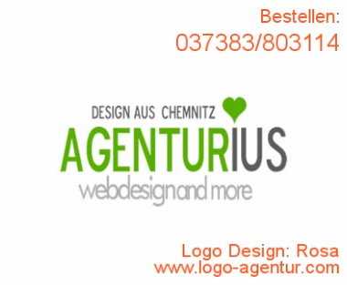 Logo Design Rosa - Kreatives Logo Design