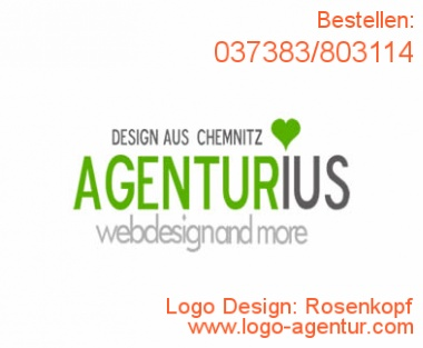 Logo Design Rosenkopf - Kreatives Logo Design