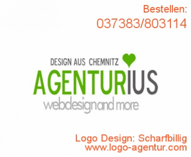 Logo Design Scharfbillig - Kreatives Logo Design