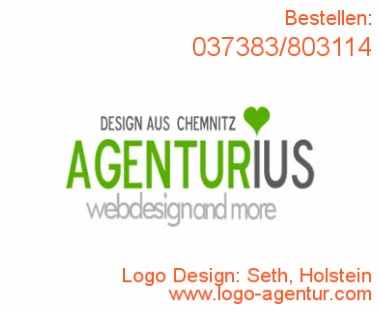 Logo Design Seth, Holstein - Kreatives Logo Design