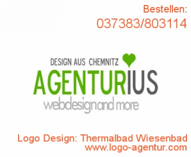 Logo Design Thermalbad Wiesenbad - Kreatives Logo Design