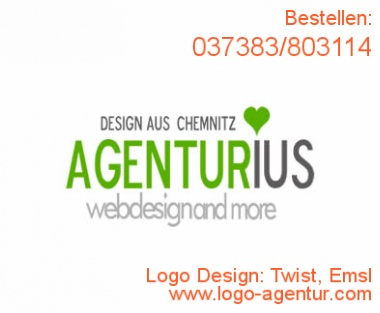 Logo Design Twist, Emsl - Kreatives Logo Design