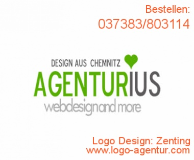 Logo Design Zenting - Kreatives Logo Design