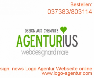 Logo Design news Logo Agentur Webseite online - Kreatives Logo Design