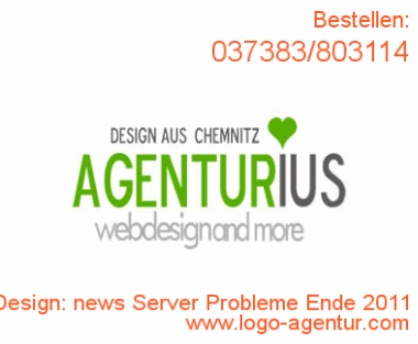 Logo Design news Server Probleme Ende 2011 - Kreatives Logo Design