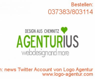 Logo Design news Twitter Account von Logo Agentur - Kreatives Logo Design