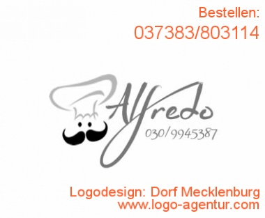 Logodesign Dorf Mecklenburg - Kreatives Logodesign