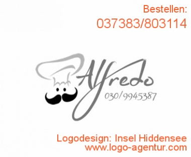 Logodesign Insel Hiddensee - Kreatives Logodesign