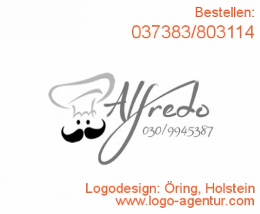 Logodesign Öring, Holstein - Kreatives Logodesign