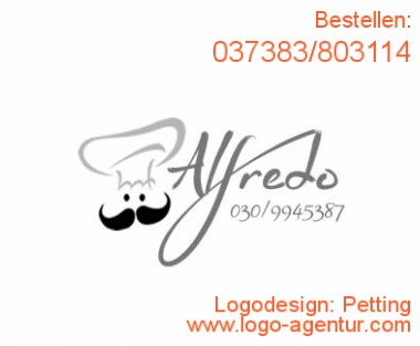 Logodesign Petting - Kreatives Logodesign