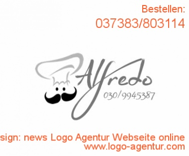 Logodesign news Logo Agentur Webseite online - Kreatives Logodesign