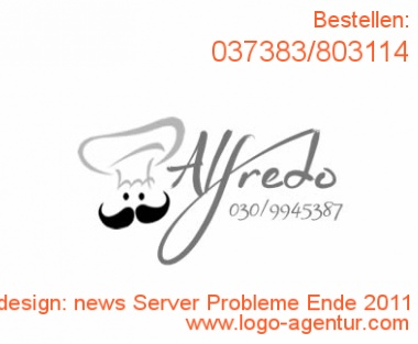 Logodesign news Server Probleme Ende 2011 - Kreatives Logodesign